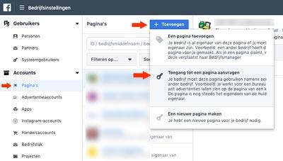 Facebook-bedrijfsmanager-klant-account-koppelen