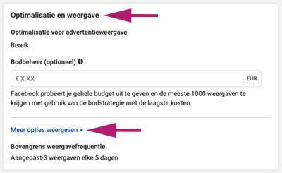 Facebook retargeting advertenties
