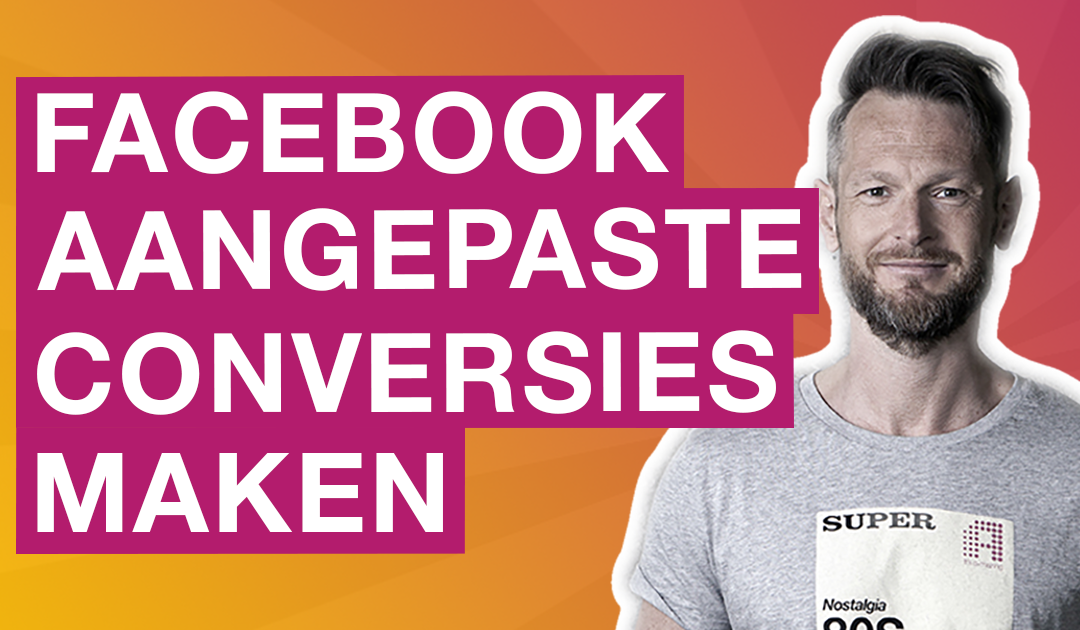 Aangepaste conversies maken in Facebook Ads manager