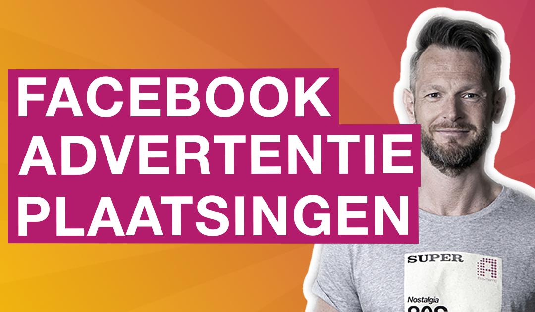 Facebook advertentieplaatsing